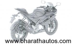 2011 Yamaha R15 - Rear