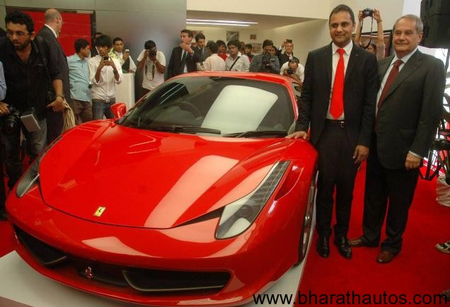 Expensive Sports Cars 2012 Ferrari opens first In...
