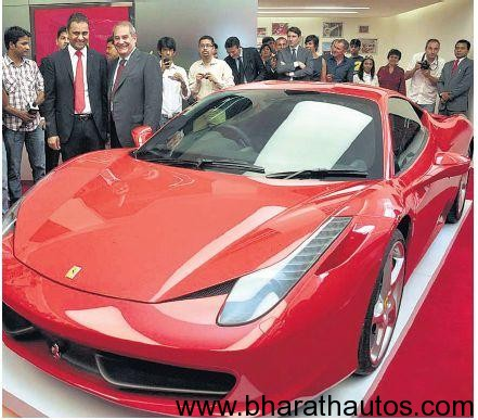 Ferrari Opens First India Showroom