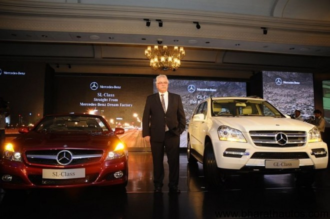 Mercedes-Benz-GL-500-SL-350-India-Launch