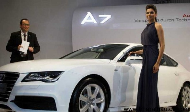 AUDI A7 launched