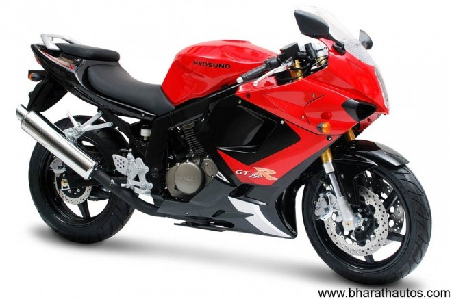 Hyosung Comet 250 sportsbike (Full-faired version)