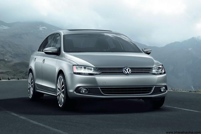 2011 Volkswagen Jetta - Front
