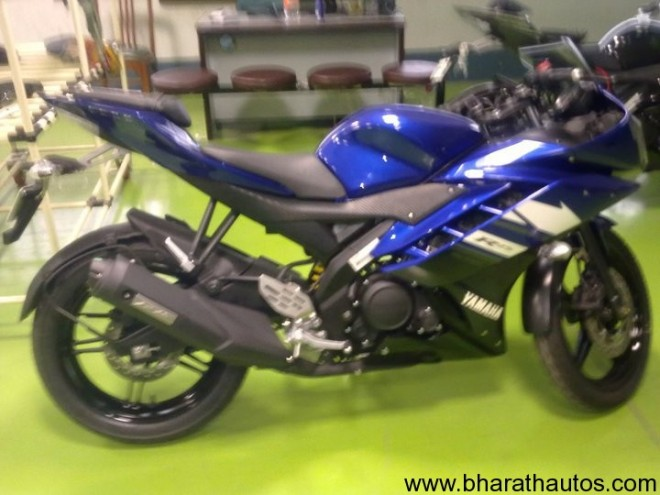 New Yamaha YZF R15 - 2012