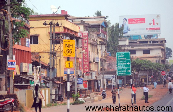 New National Highway number at Mangalore