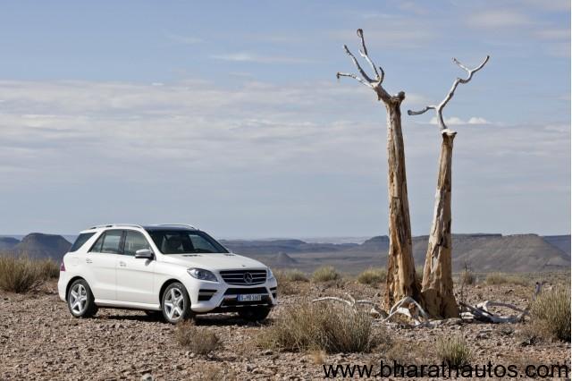 2012-Mercedes-ML-Class-Front