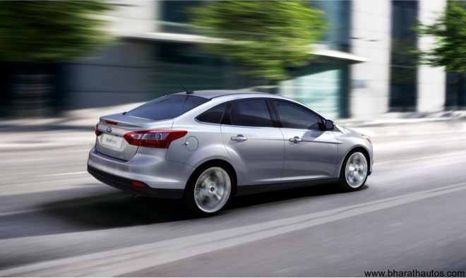 2012 Ford Focus Sedan - Rear