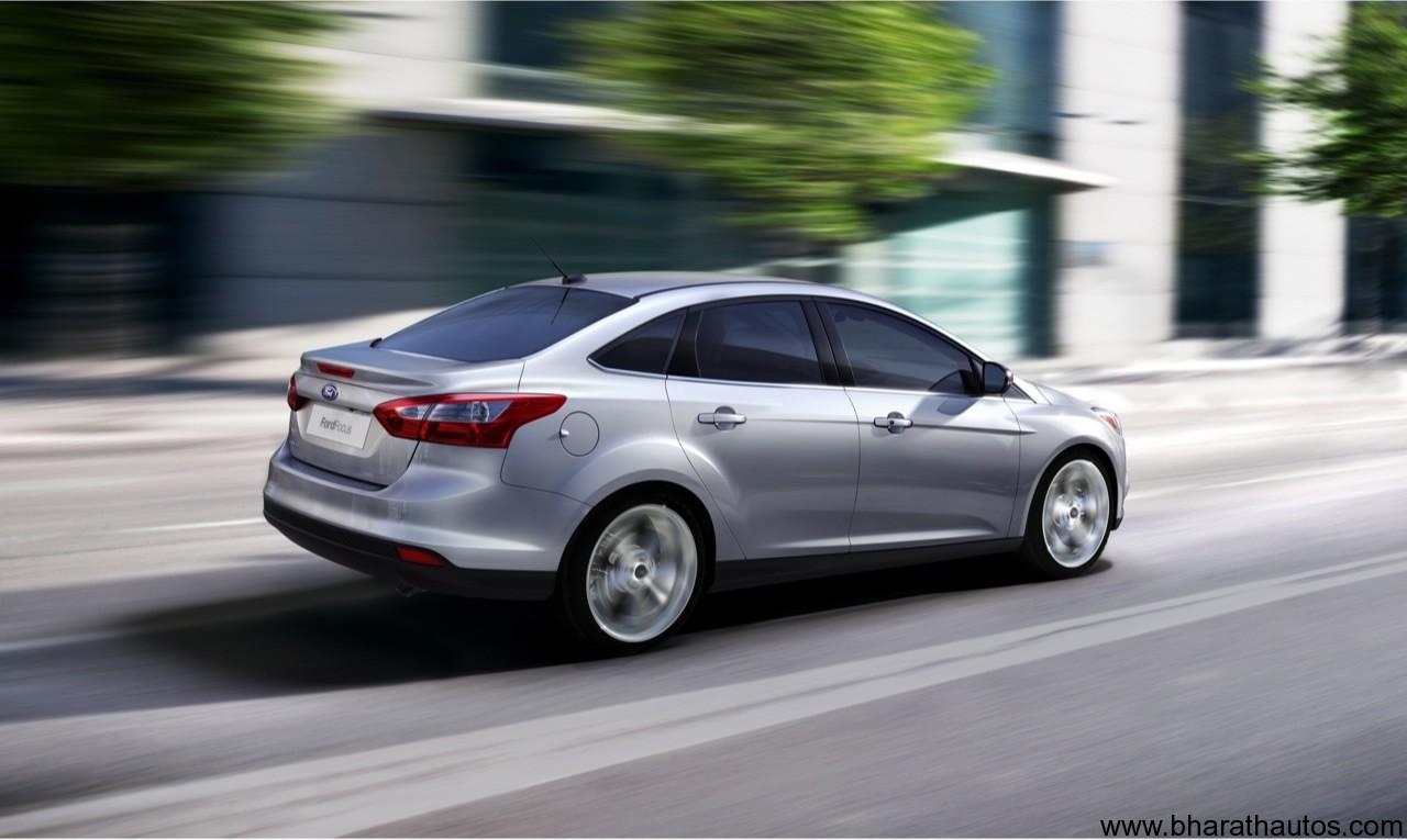 2012 Ford Focus Sedan   Rear