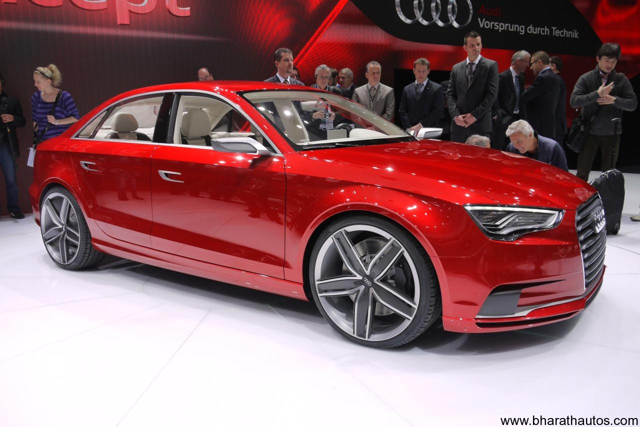 audi a3 sedan india launch by 2014. Black Bedroom Furniture Sets. Home Design Ideas