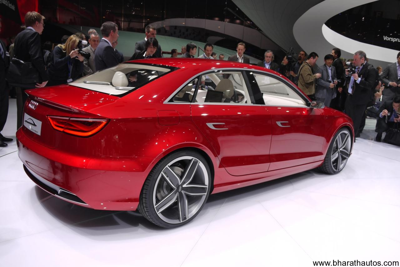 Audi A3 Sedan India Launch By 2014