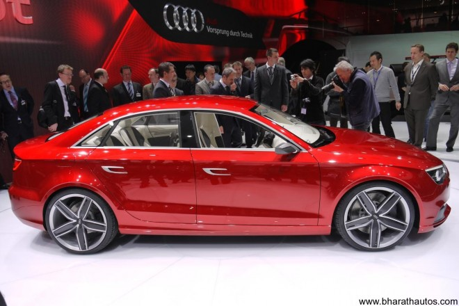 2011 Audi A3 Concept - SideView