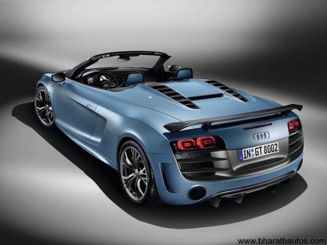 2012 Audi R8 GT Spyder - Rear