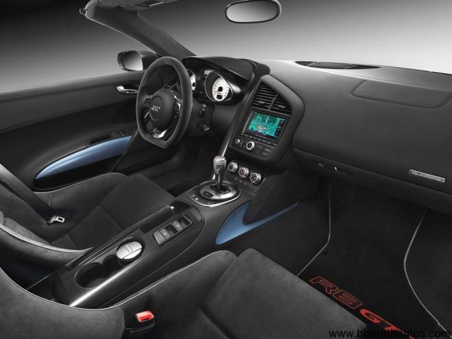 2012 Audi R8 GT Spyder - Interior