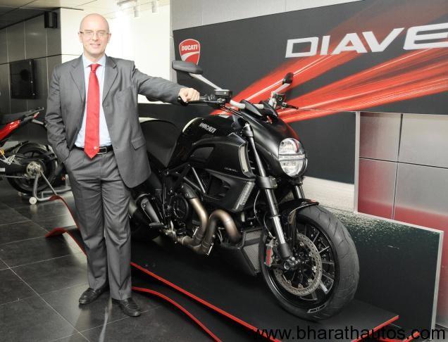 Ducati Diavel at new showroom, Bangalore