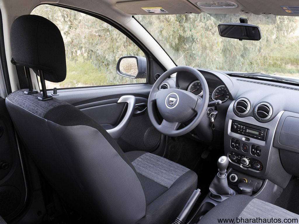 2011 Dacia Duster - Interior - BharathAutos - Automobile News Updates