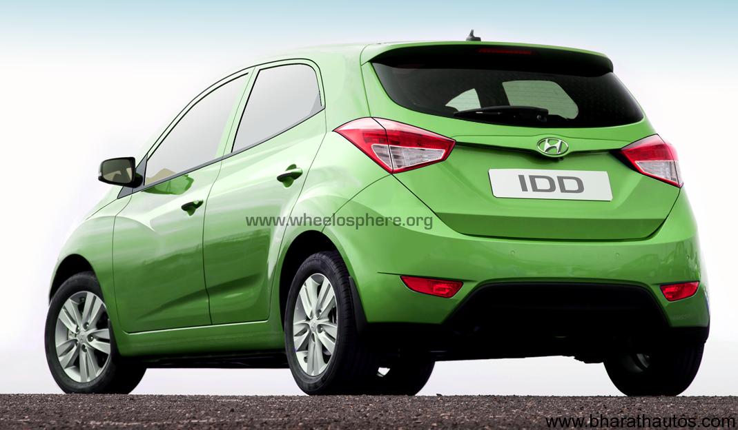 Hyundai S Small Car Ha H800 In India By November