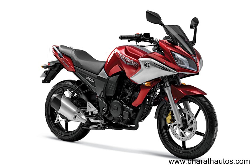 Yamaha fz16 red stickering