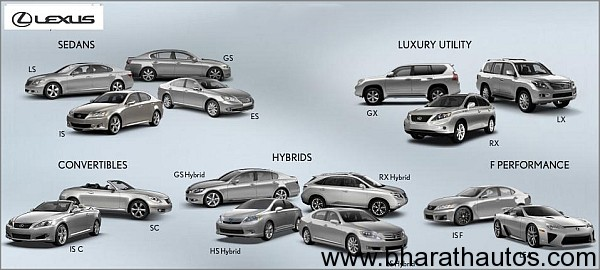 Toyota To Launch Lexus Cars In India Soon