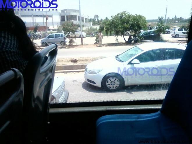 Opel Insignia India