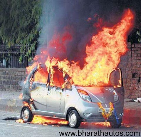 Tata-Nano-on-fire