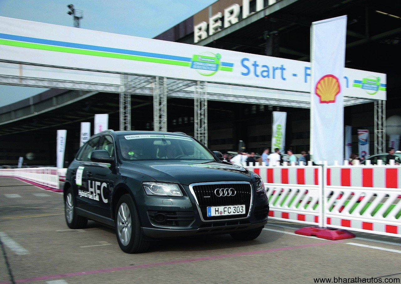 Audi Q5 Hybrid Fuel-Cell prototype 001