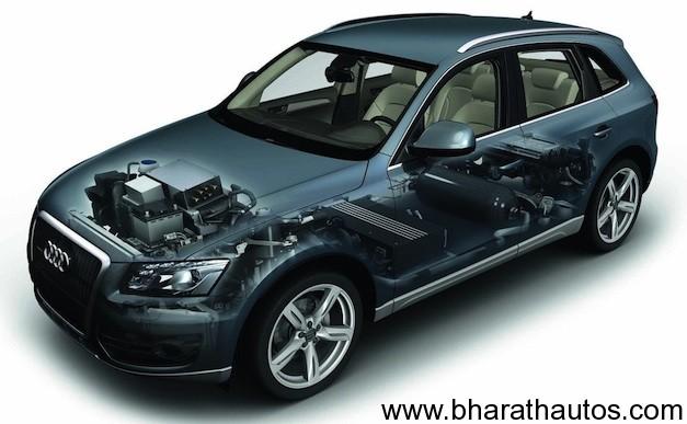 Audi Q5 Hybrid Fuel Cell Prototype Study Revealed