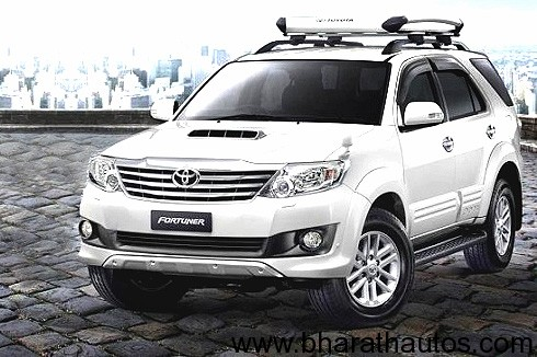 Toyota Fortuner facelift images leaked