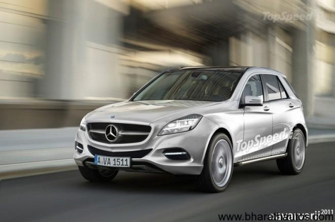 Mercedes Benz Mini SUV BLK-Class
