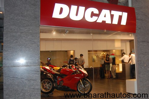 Ducati opens new showroom at Bangalore