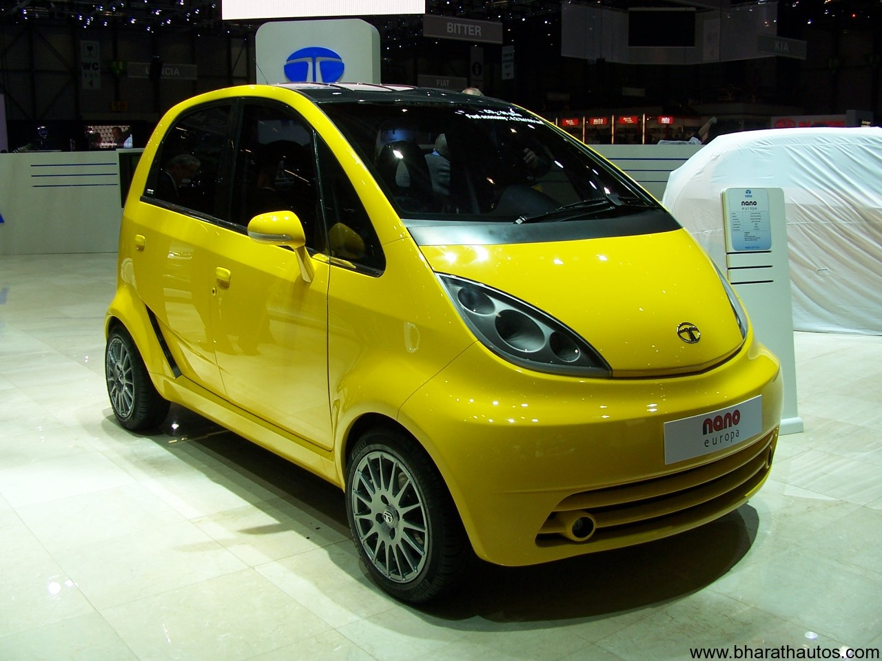 2012 Tata Nano With More Safety Features
