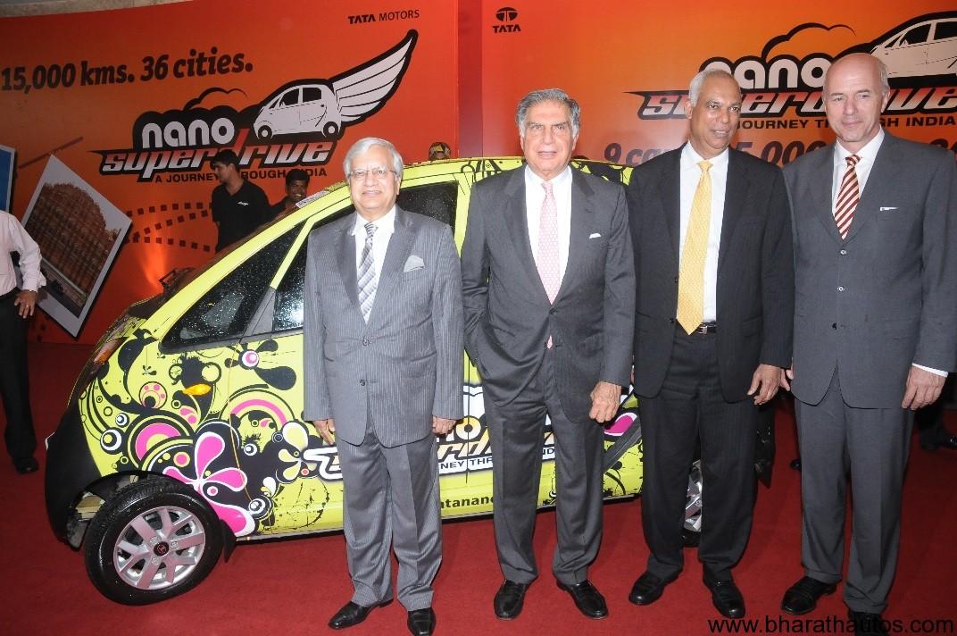 Tata Nano Commences Nepal Yatra