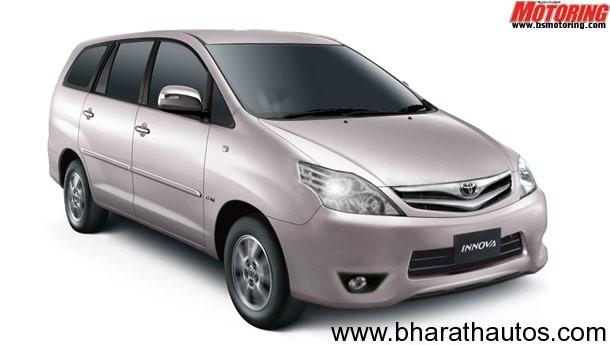 2012 Toyota Innova facelifted
