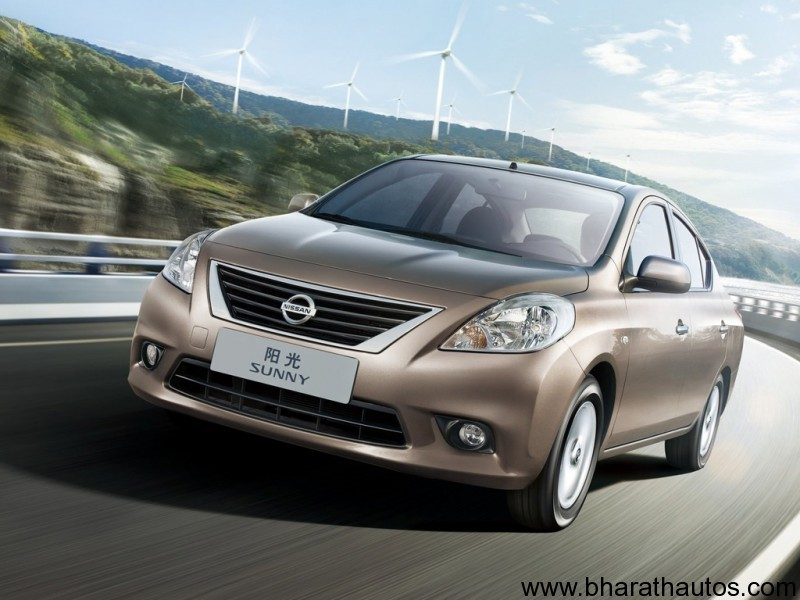 2011 Nissan Sunny - FrontView