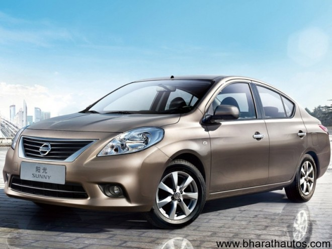 2011 Nissan Sunny- FrontView