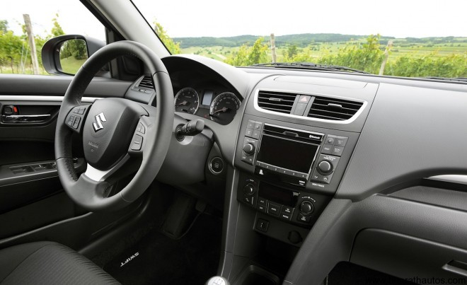 2011 Maruti Suzuki Swift - Interior
