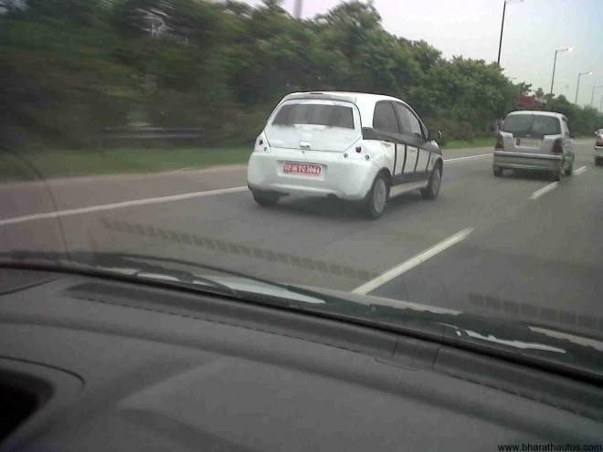 Spied Honda's Brio in Greater-Noida yet again - 002