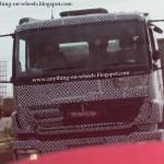 BharatBenz trucks spied - 003