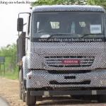 BharatBenz trucks spied - 001