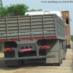 BharatBenz trucks spied - 002