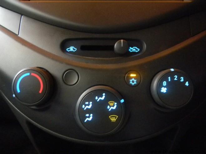 Manual air conditioning