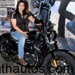 First Indian woman from Bangalore to own a Harley Davidson
