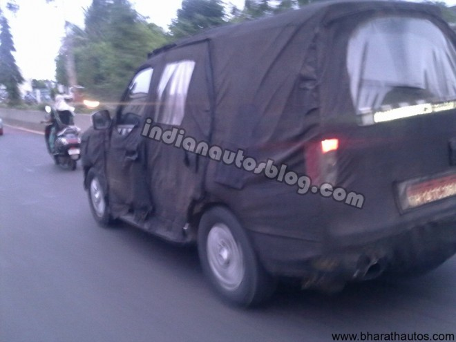 Spied – 2011 Tata Safari Merlin in Pune