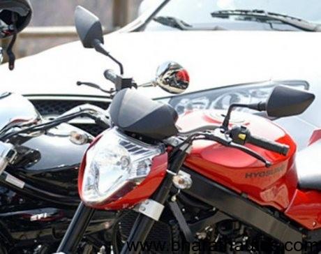 2012 Hyosung GT250 Naked version - 002