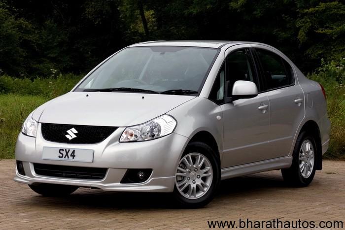 Suzuki Sx Price In India