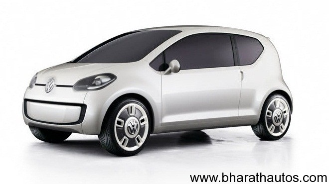 Volkswagen Up - FrontView