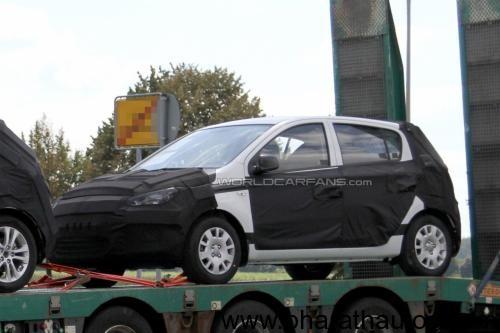 2012 Hyundai i20 - Front