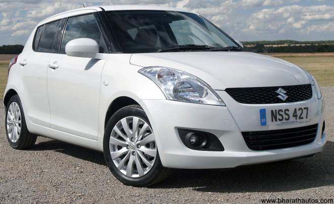 New Maruti Suzuki Swift - Front
