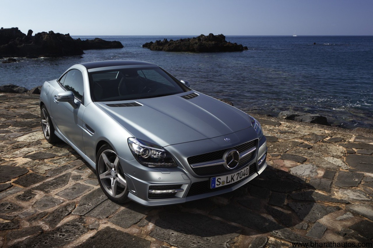 New Mercedes Benz Slk 350 Scheduled For10th August