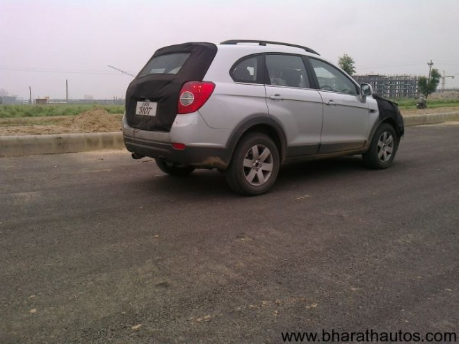 Spied 2012 Chevrolet Captiva - Rear