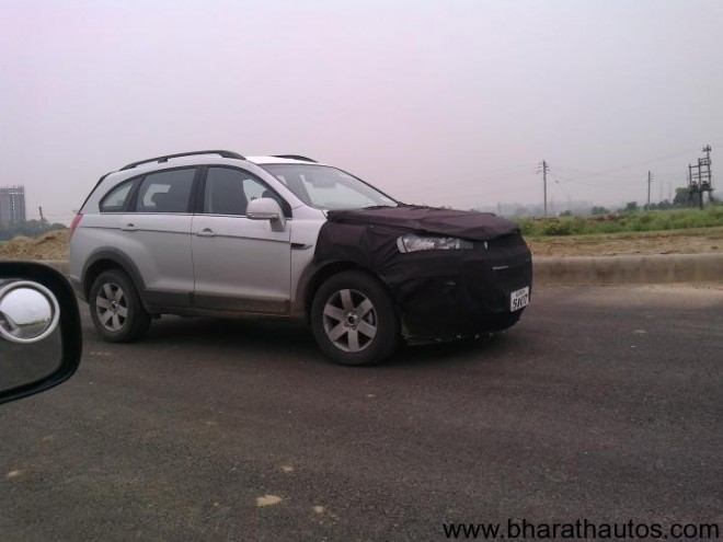 Spied 2012 Chevrolet Captiva - Front